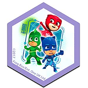 Parches - PJ MASKS Héroes en pijamas GRUPO Disney - colorido - 6,2 x 7,3 cm - by catch-the-patch® termoadhesivos bordados aplique para ropa