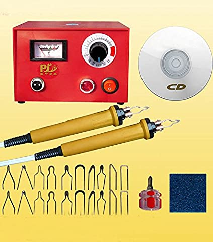 TOPCHANCES 220V 50W Adjustable Multifunction Pyrography Machine Gourd Wood Pyrography Crafts Tool - Iron Multifunction Tool