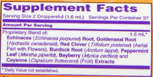 NOW Echinacea & Goldenseal Plus, 2-Ounce