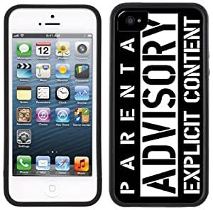 Parental Advisory Explicit Content Handmade iPhone 5 5S Black Case