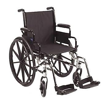 Invacare 9000 SL Wheelchair 16 inch Flip Back Arm Black