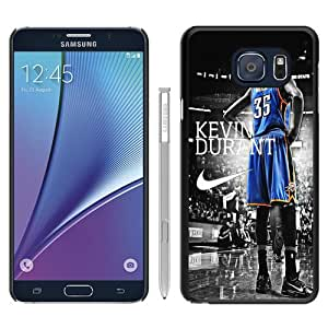 Beautiful Samsung Galaxy Note 5 Edge Cover Case ,Newest And Durable Designed Case With Oklahoma City Thunder Kevin Durant Black Samsung Galaxy Note 5 Edge Case Unique And Cool Phone Case