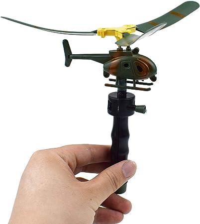 Gankmachine Luftfahrt Modell Copter Griff Pull Hubschrauber
