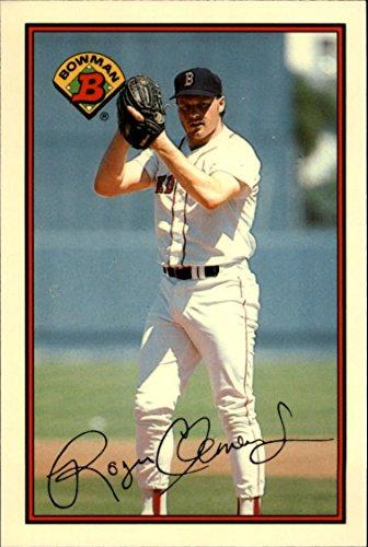 1989 Bowman Tiffany #26 Roger Clemens - NM-MT