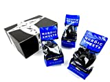 Nordic Sweets Salty Licorice Fish, 8 oz Bags in a BlackTie Box (Pack of 3)