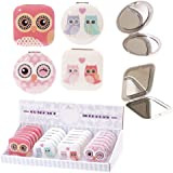 Cute Owl Compact Mirrors by Fish Around