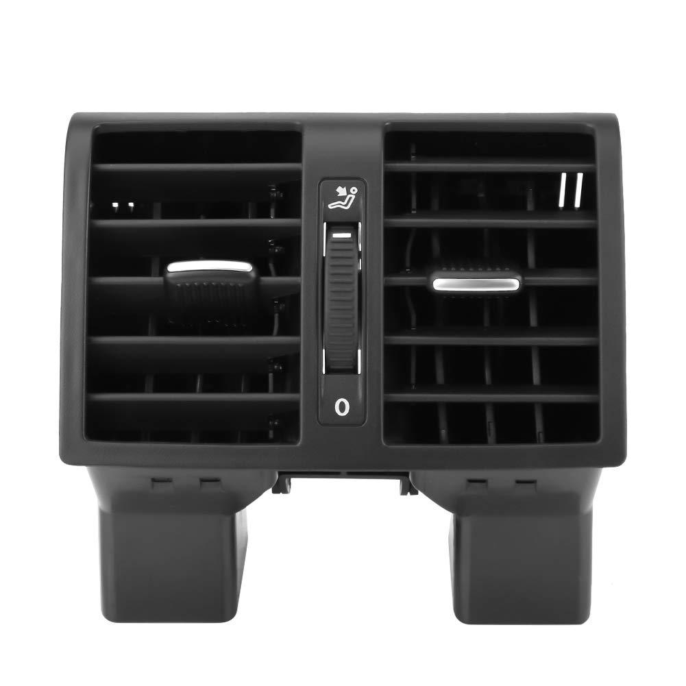 Fydun Ventola di uscita aria condizionata console centrale posteriore per Touran Caddy 1T0819203 Gruppo di ventilazione aria condizionata posteriore auto