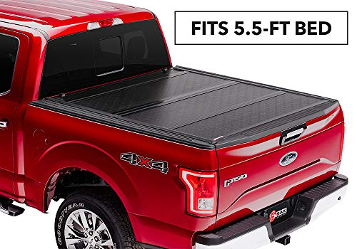 Cab Folding Bakflip Tonneau Cover - BAKFlip G2 Hard Folding Truck Bed Tonneau Cover | 226329 | fits 2015-19 Ford F150 5' 6