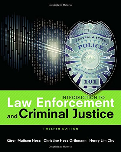 Intro.To Law Enforce.+Crim.Justice