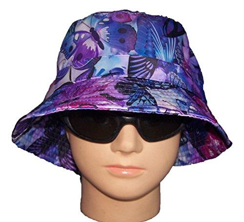 Bucket Butterfly Hat - Floppy Hats Bucket Hats Sun Hats Summer Hats Butterflies (BucKHat12Z)