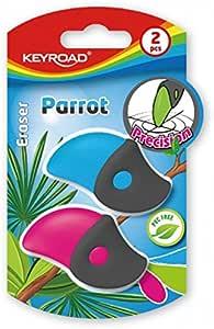 Keyroad KR971386 - Pack de 2 gomas de borrar: Amazon.es: Oficina y ...