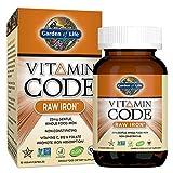 Garden of Life Iron Complex - Vitamin Code Raw Iron Whole Food Vitamin Supplement, Vegan, 30 Capsules
