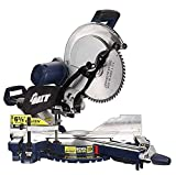 12-Inch Dual Bevel Sliding Compound Miter Saw with Laser and LED Light