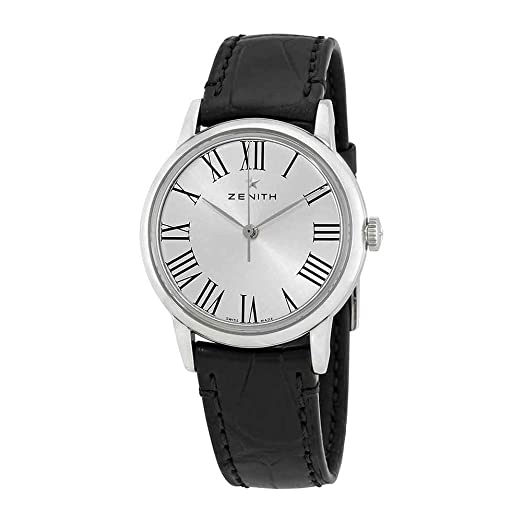 Zenith Elite automático plata Dial Damas Reloj 03.2330.679/11.c714: Amazon.es: Relojes