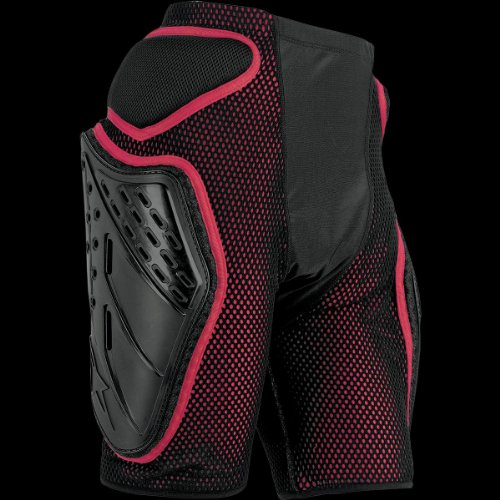 (Alpinestars Bionic Freeride Shorts (Black/Red, Large))