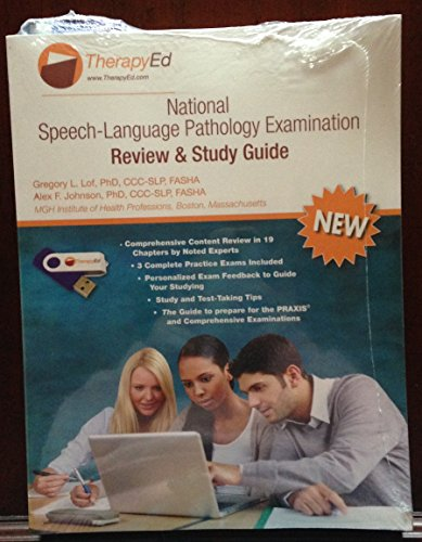National Speech-Language Pathology Examination Review & Stud