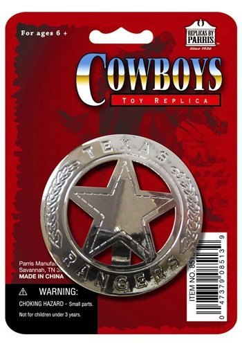 Texas Ranger Badge - ST -