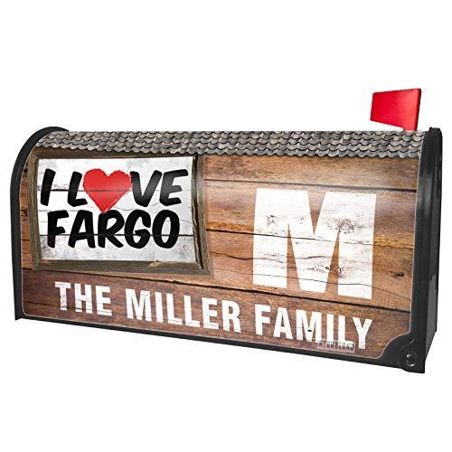 NEONBLOND Custom Mailbox Cover I Love Fargo]()