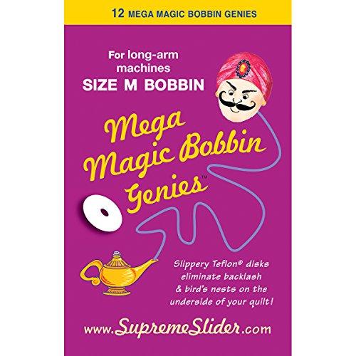 LaPierre Mega Magic Bobbin Washers ~ Mega Magic Bobbin Genies ~Size M Bobbin ...
