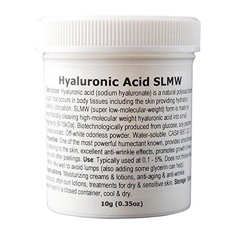 MakingCosmetics - Hyaluronic Acid (Super Low Molecular Weight) - 0.35oz / 10g - Cosmetic Ingredient