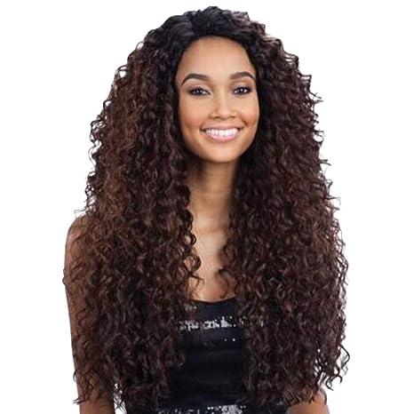 Amazon.com: Radorock - Peluca de cabello humano virgen ...