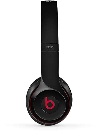 Amazon.com: Apple Beats Solo2 On-ear Headphones Black: Home Audio & Theater