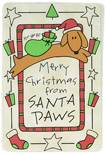 Picture of Crunch Card Merry Christmas from Santa Paws