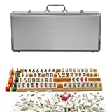Deluxe American Mahjong in a Silver Aluminum Case