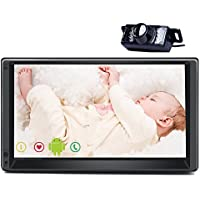 Car Autoradio 100% Quad-core 16G Universal gps navigation Car MP3 Player Android 5.1multi-touch Screen HD Bluetooth EQ Audio stereo Rear camera FM AM transmitter Radio support Wifi 3G Hotspots