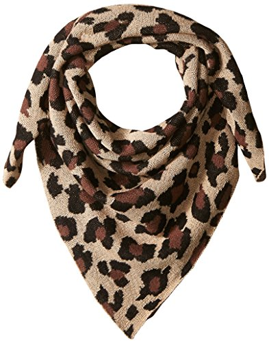 Collection XIIX Women's Leopard Bandana, Pebble Beach, One Size by Collection XIIX
