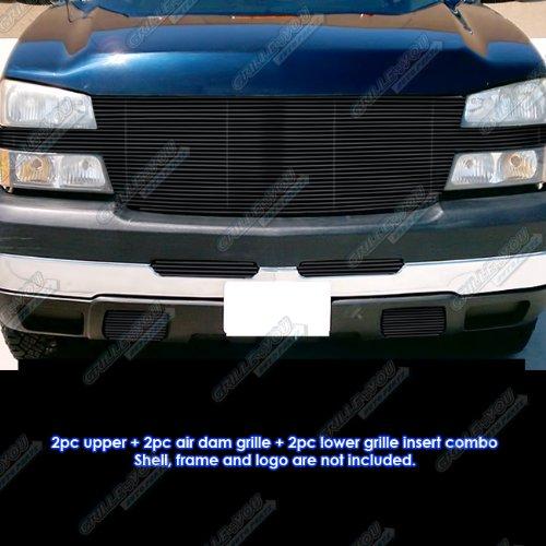 chevy silverado 2004 grill black - 5