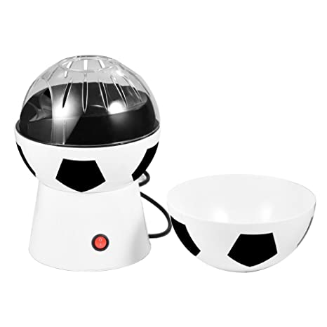 Amazon com: Popcorn Maker, Soccer Ball Electric Household