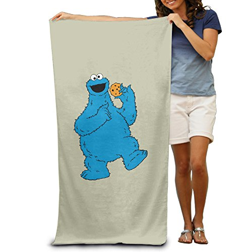 Ang-Lee86 New Design Sesame Street Absorbent Luxury Beach Towel (Velvet Costumes Ukraine)