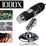 Microscópio Digital Usb Zoom 1000x Hd 2MP Led Foto e Vídeo Profissional Frete Barato Envio Imediato