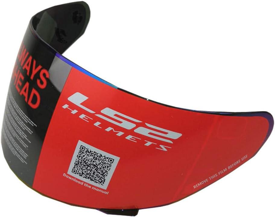 LS2 FF352 Helm Visiere Rockie FF351 FF384 FF369 Motorrad Helm Visiere Rainbow