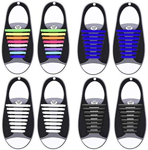 KCDDUMK Shoelaces Silicone Sneakers Shoes Waterproof product image