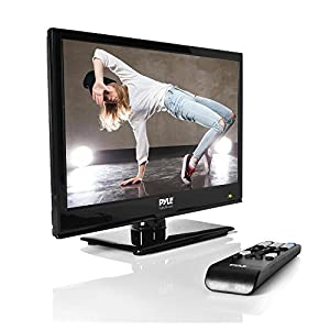 Upgraded Premium 15.6-Inch 1080p LED TV | Ultra HD TV | LED Hi Res Widescreen Monitor with HDMI cable RCA Input, LED TV Monitor, Audio Streaming, Mac PC, Stereo Speakers, HD TV Wall Mount