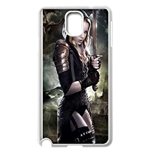 Valkyrie Girl Samsung Galaxy Note 3 Cell Phone Case White B8G2RM