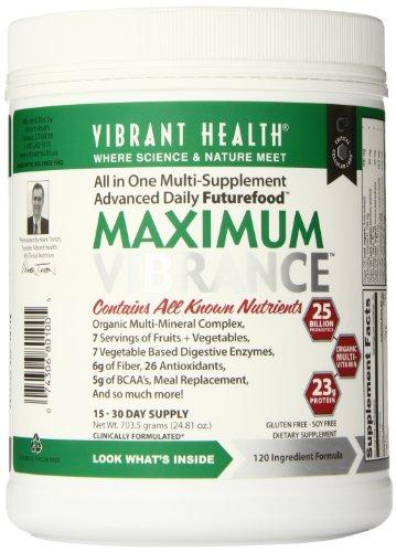 Яркий Здоровье Максимальная Vibrance Пищеварительная Дополнение, 24,9 унции
