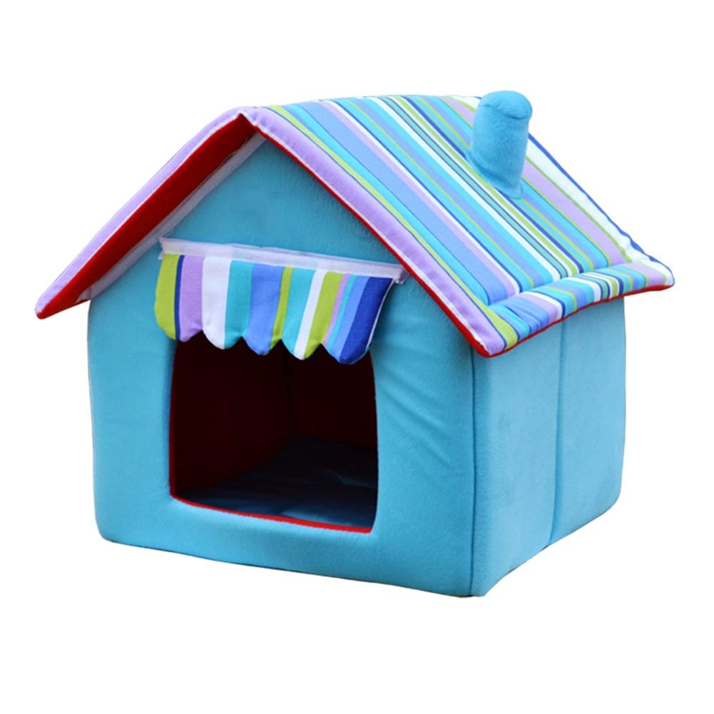 4 XXL 4 XXL Dog House, Soft and Warm Cotton Dog House Winter Removable and Washable Four Seasons Universal Small Medium Pet Nest House (color   4, Size   XXL)
