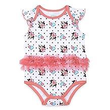Disney Baby Girls' Minnie Mouse Tutu Bodysuit