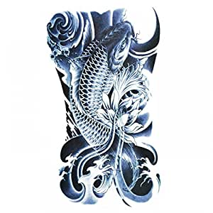 Wonbeauty halloween temporary tattoos for men for Fake tattoos amazon