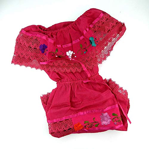 Mexican Baby Dress Size 1 Hand Made Coco Theme Party Pink