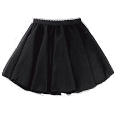 JXUFUFOO Girls Basic Ruffle Dance Wrap Skirt Ballet Tutu Chiffon