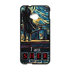 Sher locked Cell Phone Case for HTC One M7