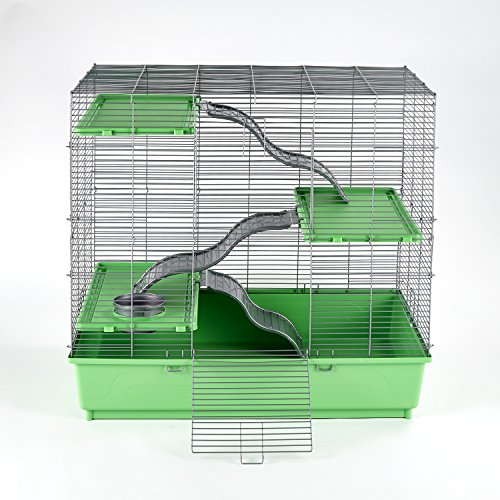"Kaytee My First Home Multi-Level Habitat for Exotics, 30.5"" x 18"" x (Pet Chinchilla Rat)"