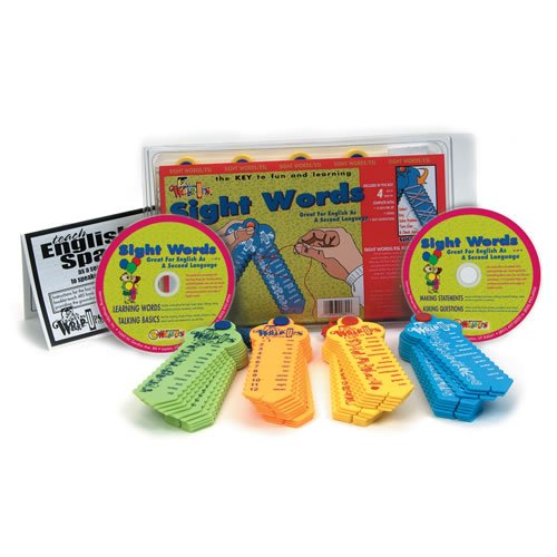 Sight Words/ESL Resource Kit by Learning Wrap-Ups