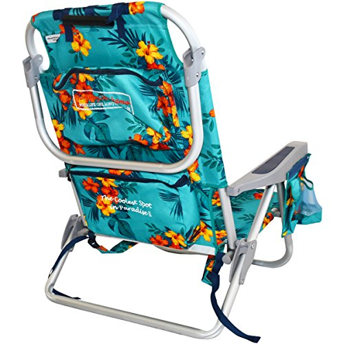 2 Tommy Bahama Backpack Beach Chairs Turquoise 1 Medium