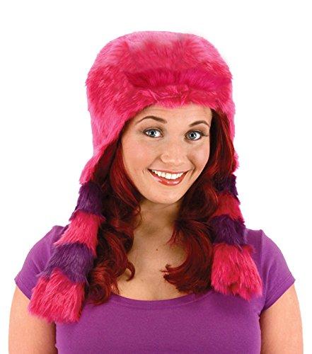 [elope Women's Monsters University Deluxe Art Hoodie, Purple, One Size] (Monsters University Hat)