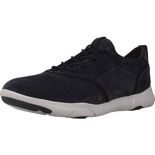Geox U Nebula S D, Zapatillas sin Cordones para Hombre: Amazon.es: Zapatos y complementos